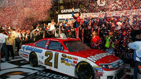 2011, 1st-place finish for Wood Brothers