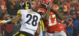NFL fines Steeler who hit Chief (Conley), Chief (Kelce) who hit Steeler