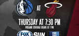 Dallas Mavericks at Miami Heat game preview