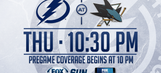 Tampa Bay Lightning at San Jose Sharks game preview