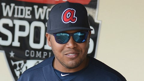 Nov. 6, 2007: Andruw Jones' 10th Gold Glove