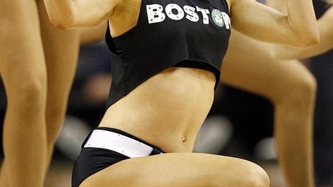 Celtics dancer