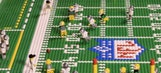 Watch the Packers beat the Cowboys again through the magic of Legos