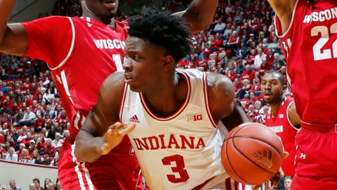 Miami Heat: OG Anunoby, F, Indiana (sophomore)
