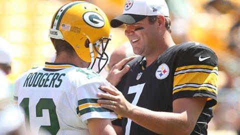 10. Packers-Steelers, Vikings-Patriots: 20/1