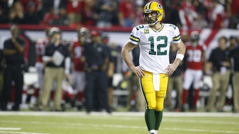 Aaron Rodgers needs help in Green Bay