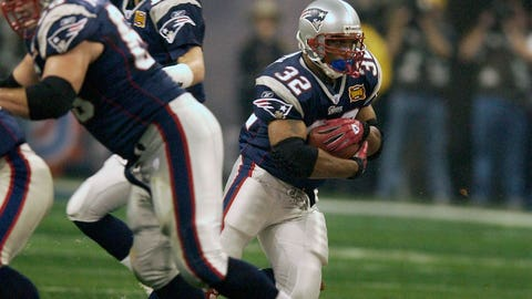 RBs: Antowain Smith, Kevin Faulk