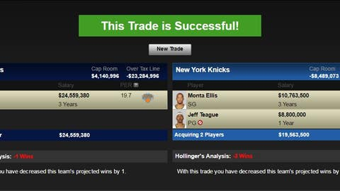 Indiana Pacers: Carmelo Anthony for Monta Ellis, Jeff Teague and Indiana's 2017 first-round pick