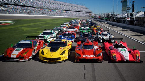 2017 Rolex 24 at Daytona starting lineup