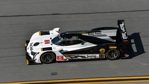 No. 5 Mustang Sampling Racing Cadillac DPi - P