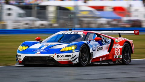 No. 68 Ford Chip Ganassi Team UK Ford GT - GTLM