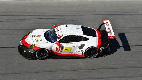 No. 911 Porsche GT Team Porsche 911 RSR - GTLM