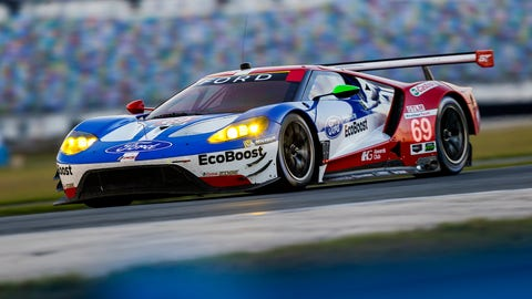 No. 69 Ford Chip Ganassi Team UK Ford GT - GTLM