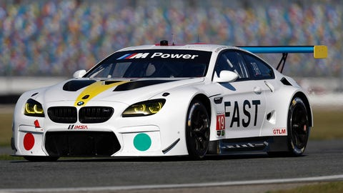 No. 19 BMW Team RLL BMW M6 GTLM - GTLM