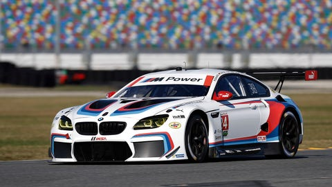 No. 24 BMW Team RLL BMW M6 GTLM - GTLM