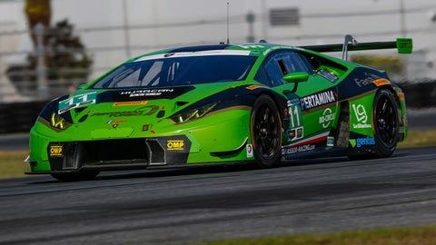 No. 11 GRT Grasser Racing Team Lamborghini Huracan GT3 - GTD