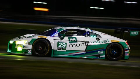 No. 29 Montaplast by Land-Motorsport Audi R8 LMS GT3 - GTD