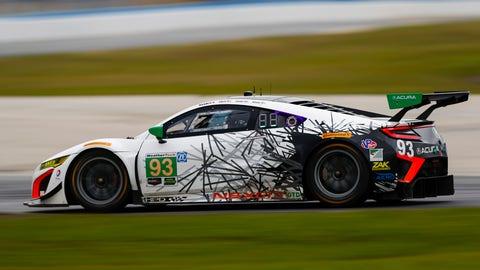 No. 93 Michael Shank Racing w/ Curb-Agajanian Acura NSX GT3 - GTD