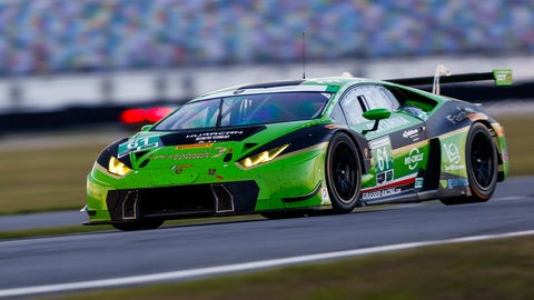 No. 61 GRT Grasser Racing Team Lamborghini Huracan GT3 - GTD