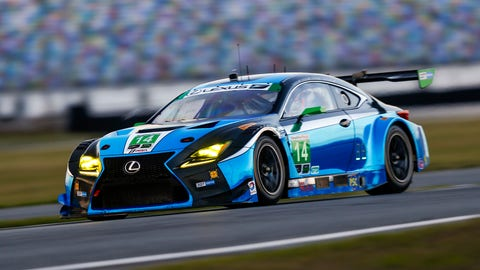 No. 14 3GT Racing Lexus RCF GT3 - GTD