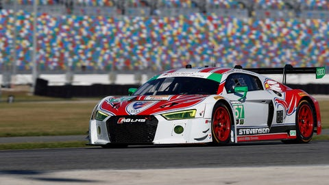 No. 57 Stevenson Motorsports Audi R8 LMS GT3 - GTD