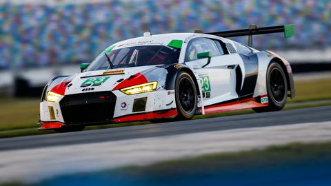 No. 23 Alex Job Racing Audi R8 LMS GT3 - GTD