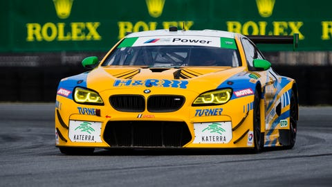 No. 96 Turner Motorsport BMW M6 GT3 - GTD