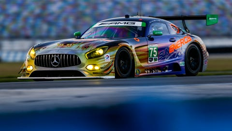 No. 75 SunEnergy1 Racing Mercedes AMG GT3 - GTD