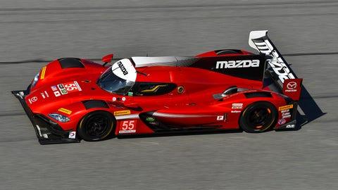 No. 55 Mazda Motorsports Mazda DPi - P