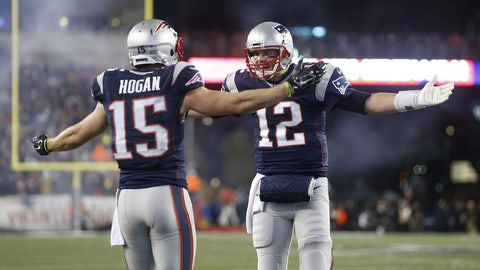 Chris Hogan, WR, Patriots (thigh): Questionable