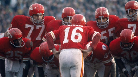 Kansas City Chiefs -- Getting to Super Bowl I (1966 AFC championship)