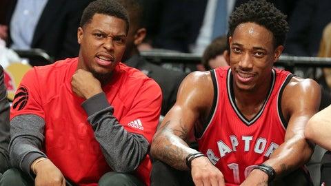Toronto Raptors: Kyle Lowry, DeMar DeRozan, Serge Ibaka