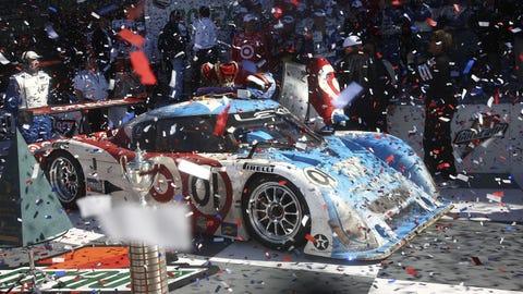 2008: No. 01 Telmex Chip Ganassi Racing
