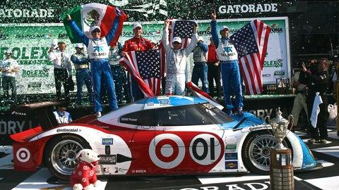 2011: No. 01 Chip Ganassi Racing with Felix Sabates