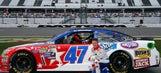 AJ Allmendinger's Daytona 500 paint schemes and results