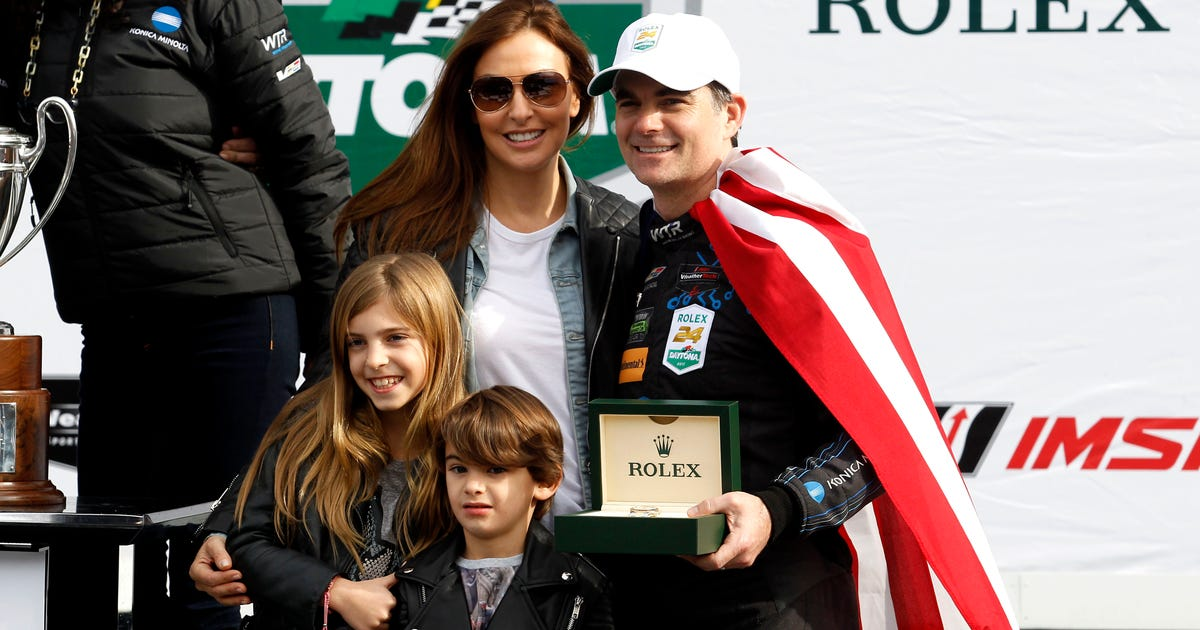 Jeff Gordon Talks About Joining Elite Group Shows Off New