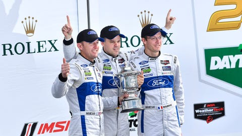 Ford GT winning drivers