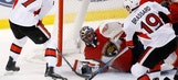 Panthers capitalize on late gaffe to top Senators