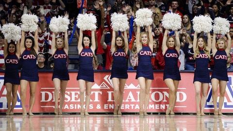 Arizona cheerleaders