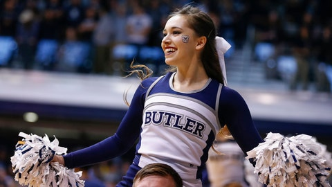 Butler cheerleader