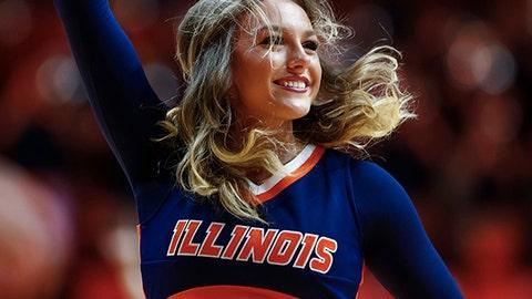 Illinois cheerleader