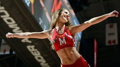 Maryland cheerleader