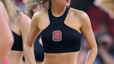 North Carolina State cheerleader