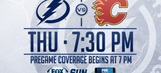 Calgary Flames at Tampa Bay Lightning game preview