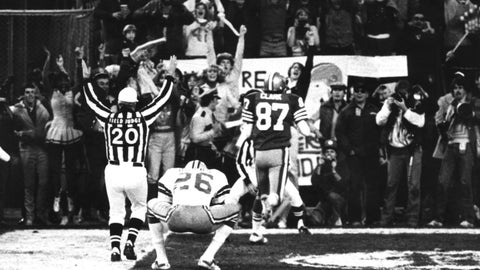 San Francisco 49ers -- The Catch (1981 NFC championship)