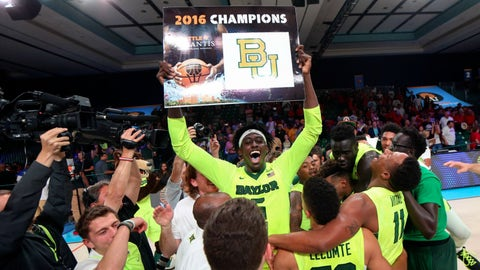Baylor Bears (17-1, 5-1 Big 12)