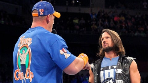 Fox Sports: The underlying theme of your title match with John Cena seems to be respect. Has your opinion of John Cena changed in your first year in WWE?