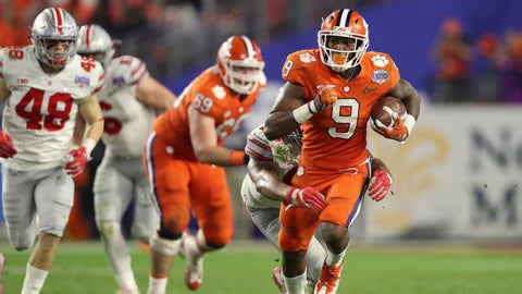 Clemson's run game still isn't clicking