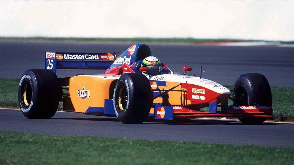 Mastercard Lola F1 Background 8