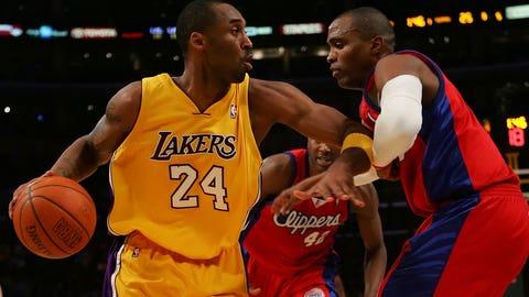50 vs. LA Clippers, 4/12/07